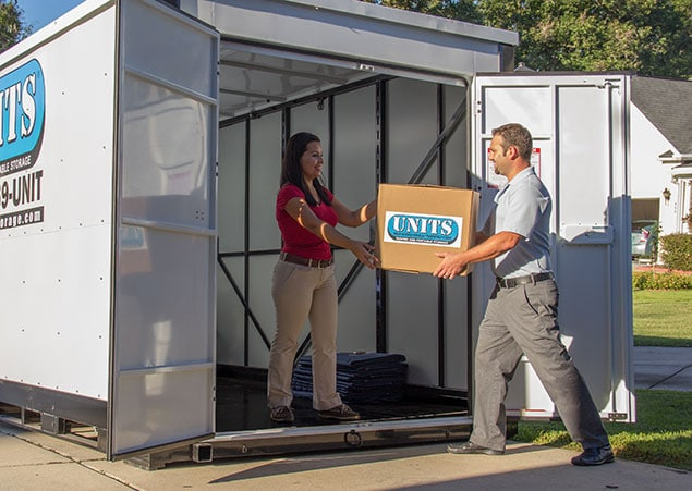 Moving Made Easy With UNITS Portable Containers