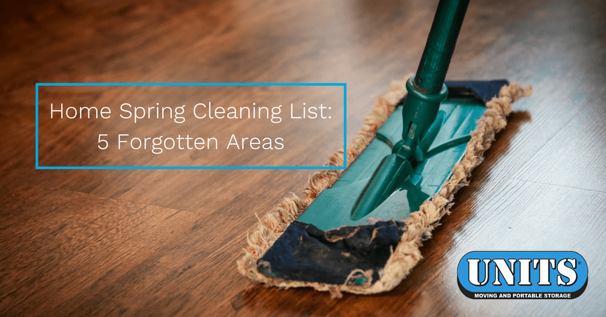 Home Spring Cleaning List: 5 Forgotten Areas