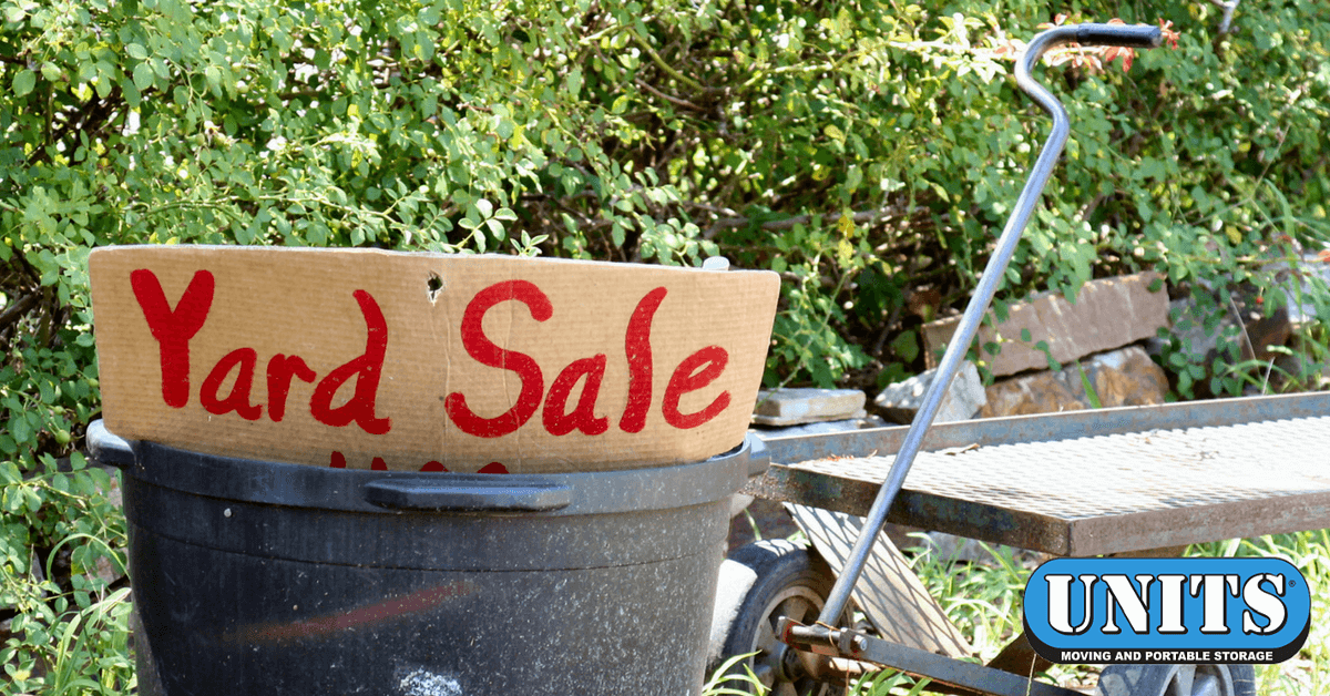 How to Plan a Yard Sale