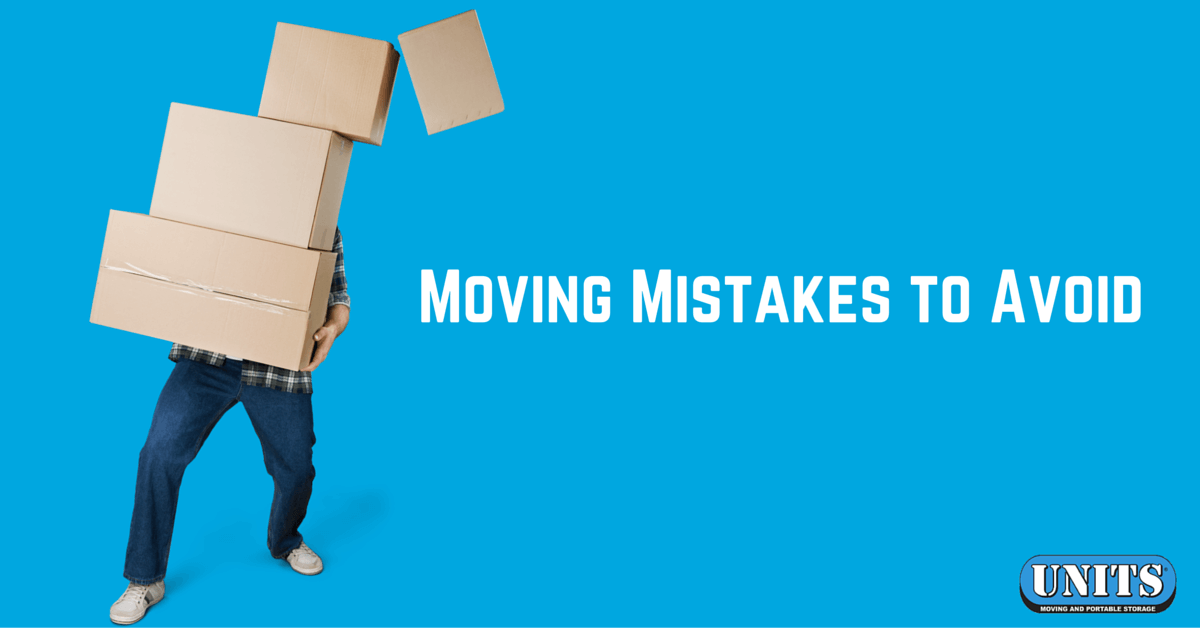 Moving Mistakes to Avoid