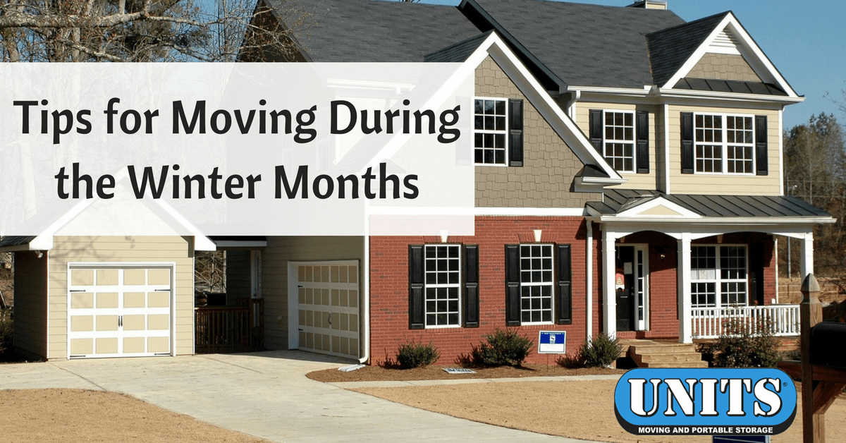 Tips for Moving During the Winter Months