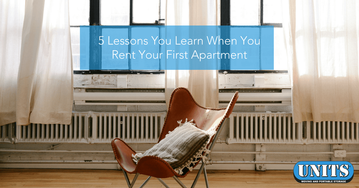 5 Lessons You Learn When You Rent Your First Apartment