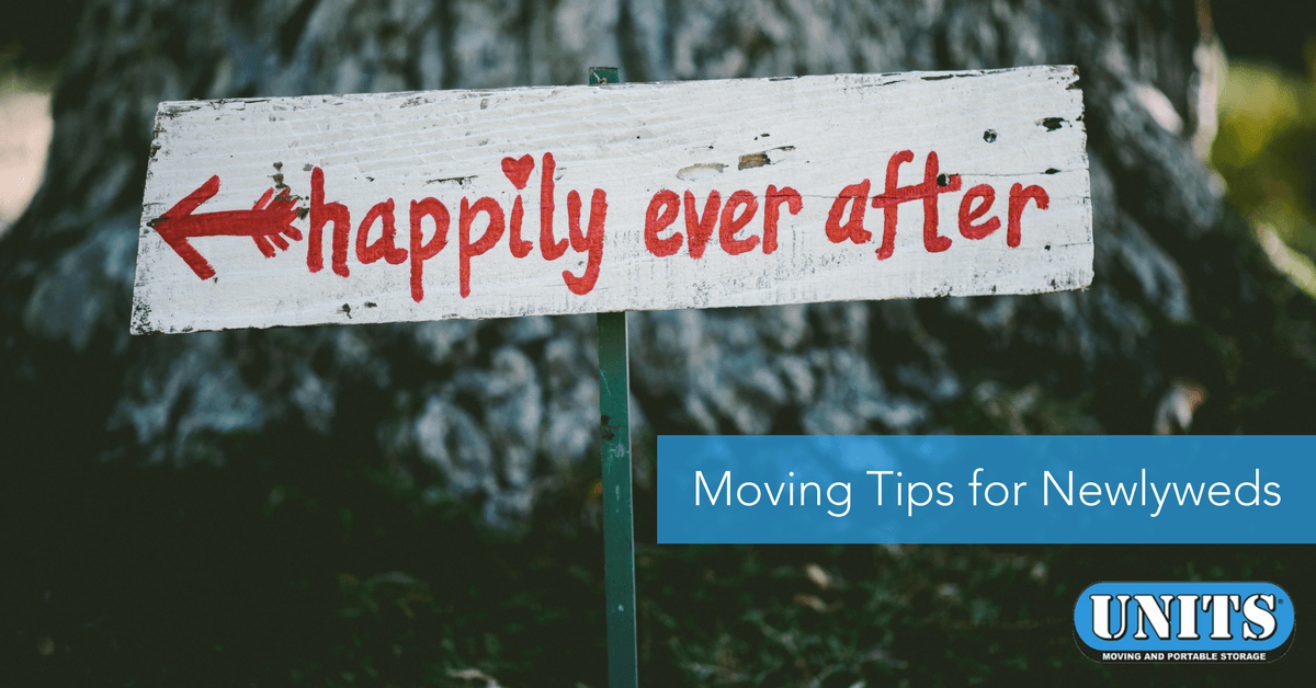 Happily Ever After: Moving Tips for Newlyweds