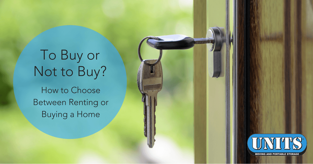 To Buy or Not to Buy? How to Choose Between Renting or Buying a Home