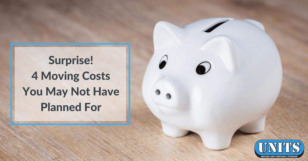 Surprise! 4 Moving Costs You May Not Have Planned For