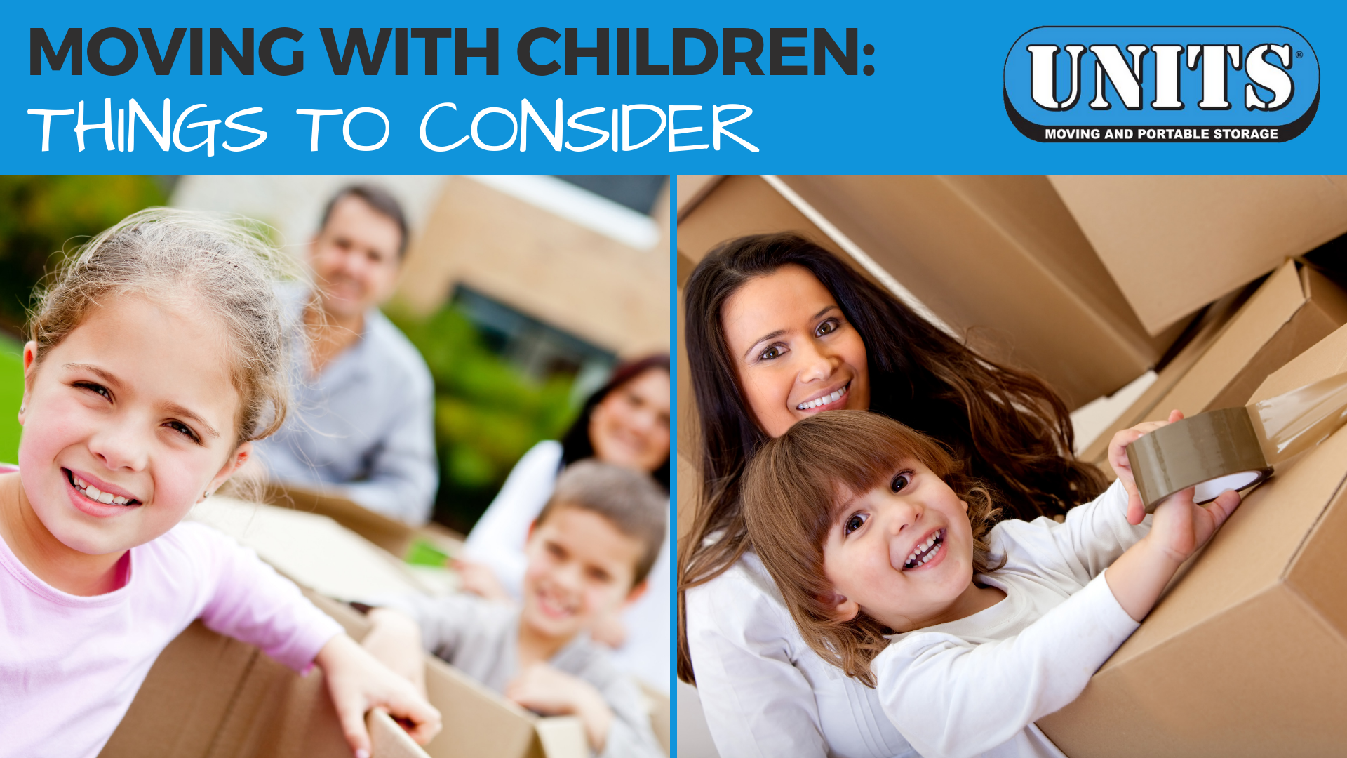 Moving With Children: Things To Consider