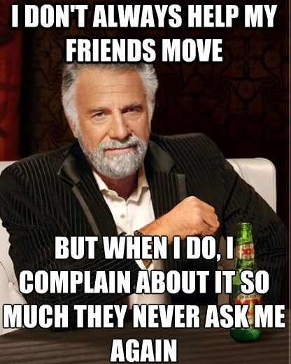 10 Memes All People Who Are Getting Ready To Move With