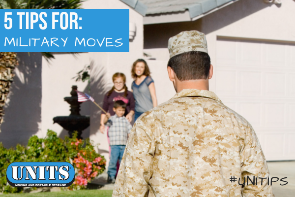 5 Tips for Military Moves