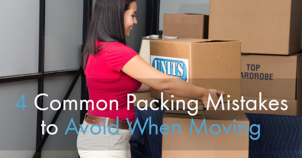 4 Common Packing Mistakes to Avoid When Moving
