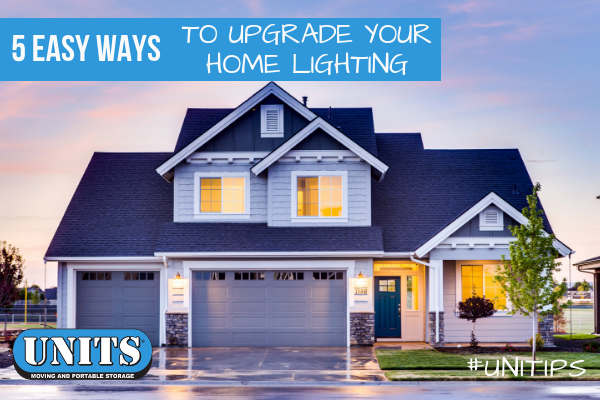 5 Easy Ways to Upgrade Your Home Lighting