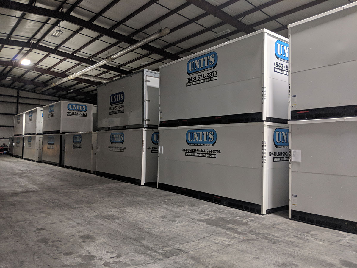 UNITS of Charleston Storage Containers