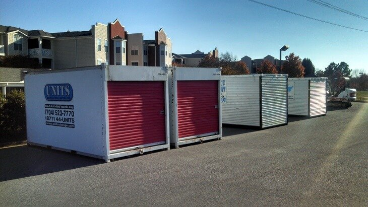Portable Storage Units 174 Amp Containers Charlotte Nc Units