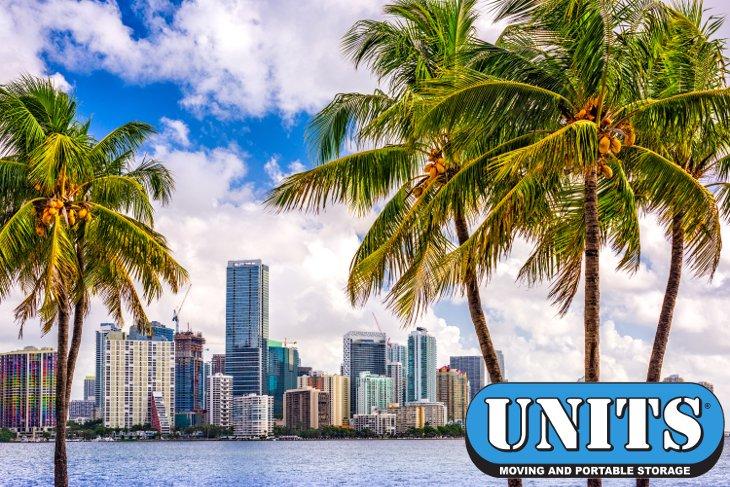 Miami Portable Storage Units - Never Visit A Self Storage Facility Again! & Portable Storage UNITS® u0026 Containers Miami FL - UNITS Storage Miami FL
