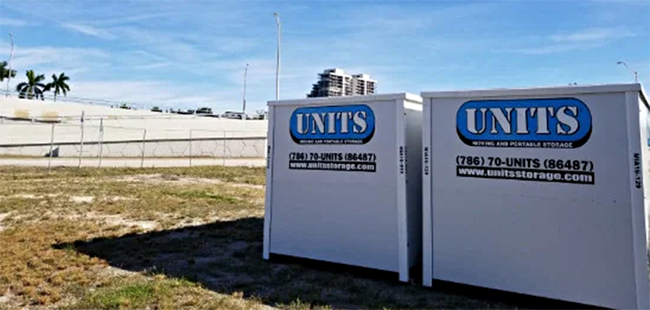 Portable Storage UNITS® & Containers Miami, FL - UNITS ...