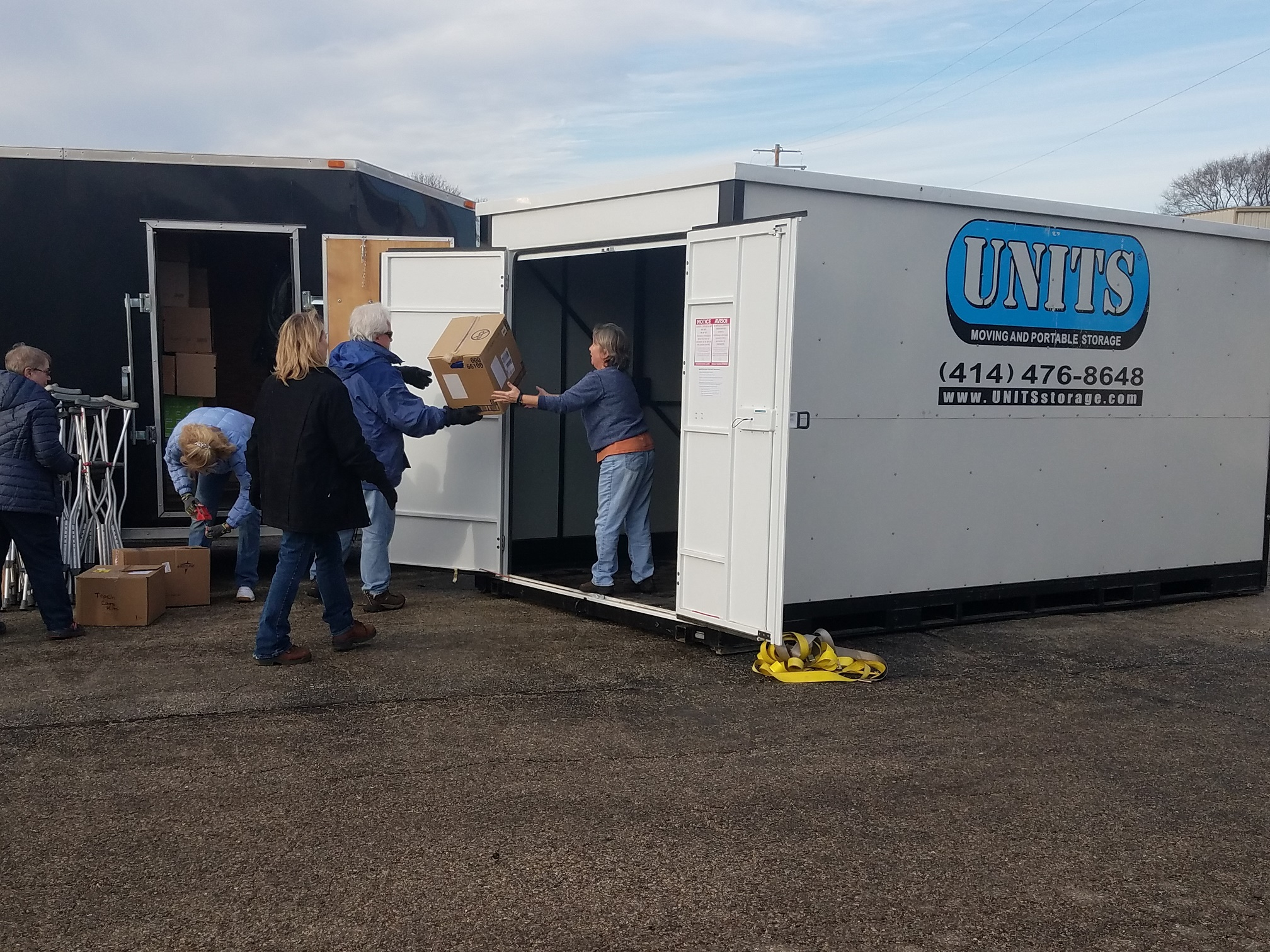 UNITS Milwaukee Proudly Supports Hurricane Relief Efforts Portable