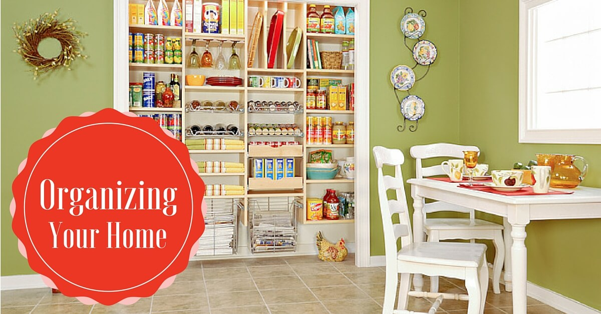 Simple Ways to Organize Your Home in 2016