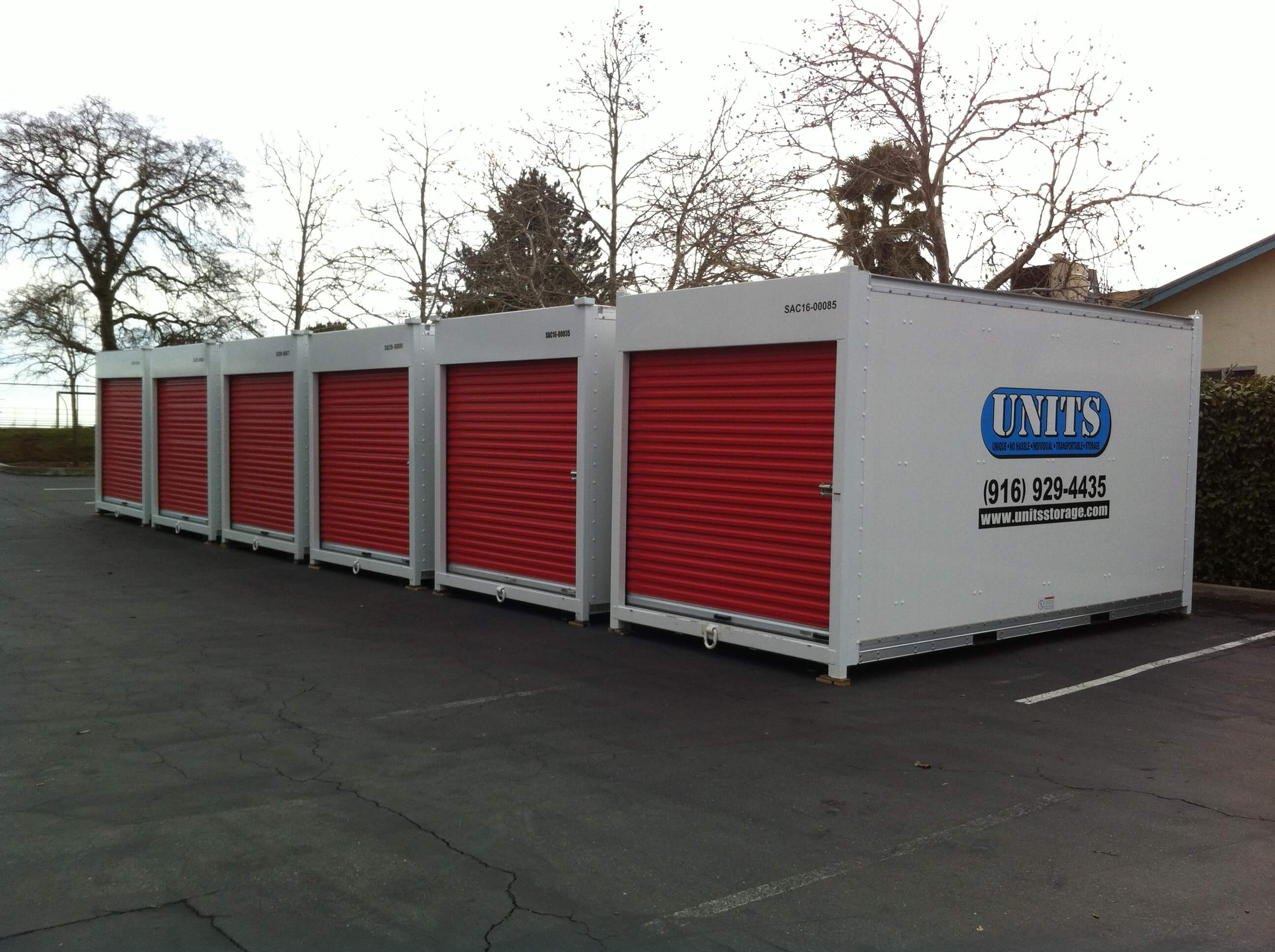 Sacramento Portable Storage Units Mobile Containers