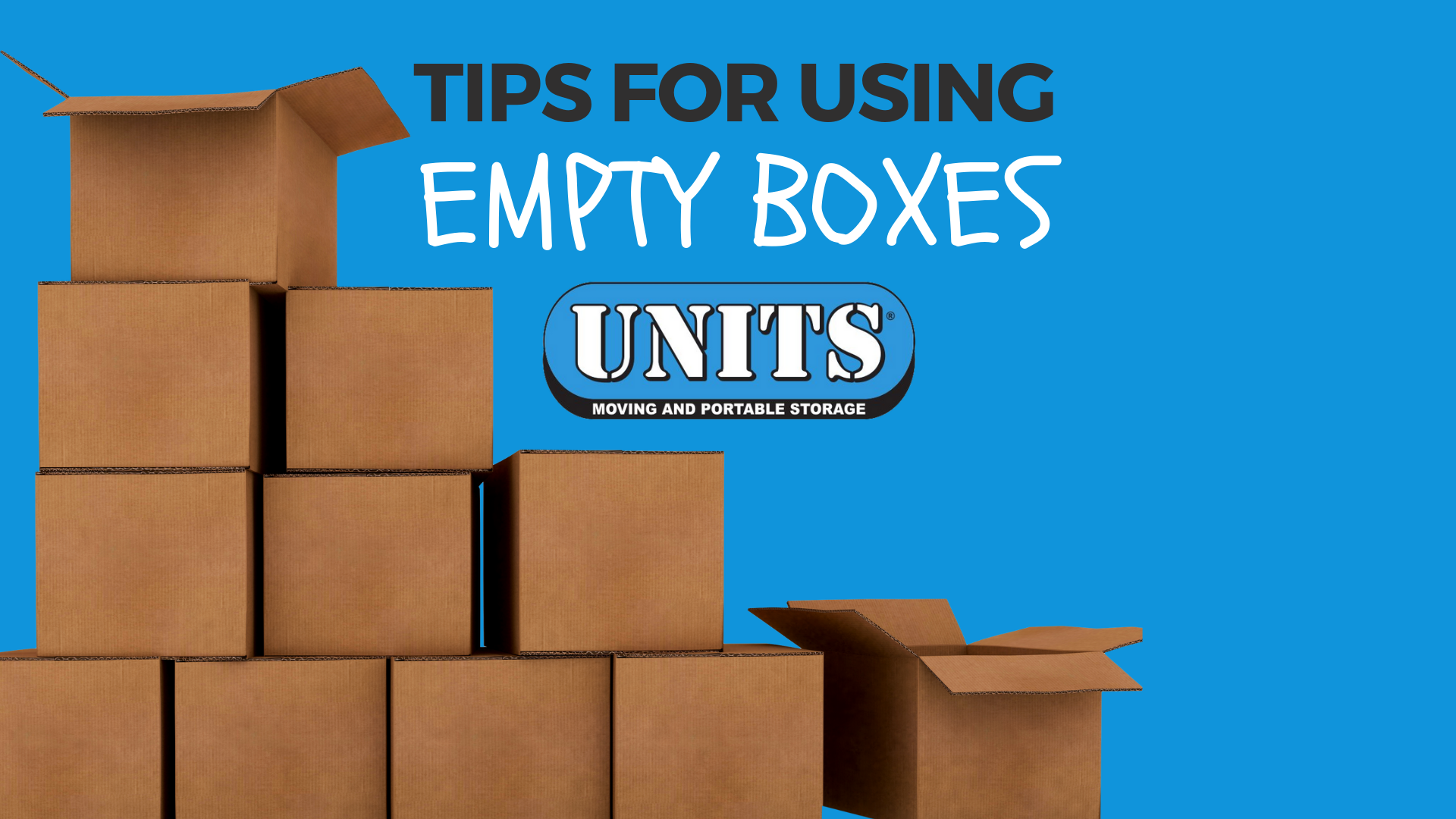 Tips for Using Empty Boxes