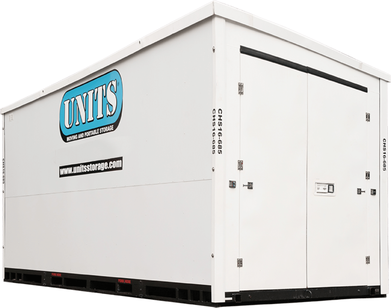 units portable storage container