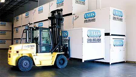 UNITS Storage Center